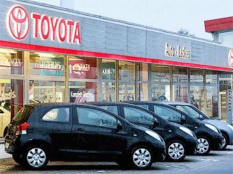 """Скидки помогли """"Тойоте"""" увеличить продажи в полтора раза"""