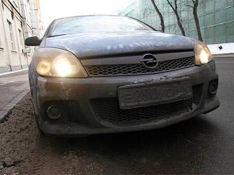 Московских водителей заставят помыть автомобили