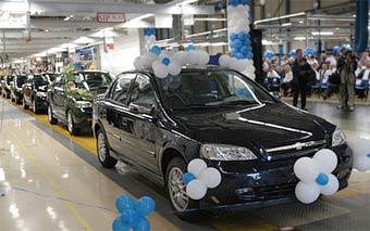 """СП """"GM-АвтоВАЗ"""" сократило производство на 28 процентов"""