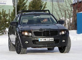 Mercedes-Benz проводит тесты нового кроссовера