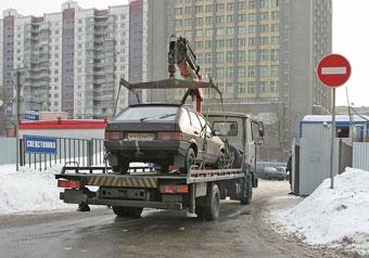 Власти Москвы удвоят число эвакуаторов