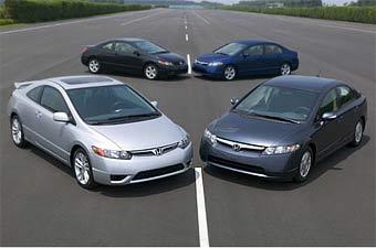Автомобилем и внедорожником года в США стали модели Honda