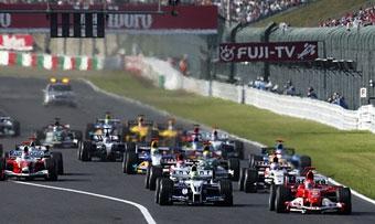 Гран-при Японии в 2007 году поменяет трассу