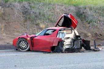 Швед, разбивший Ferrari, арестован