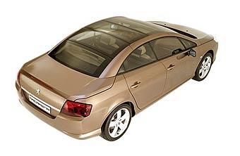 На базе седана Peugeot 407 построили купе-кабриолет