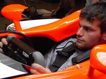 Фабрицио Дель Монте стал тест-пилотом команды Midland F1