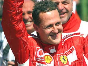 Михаэль Шумахер выиграл Гран-при Сан-Марино