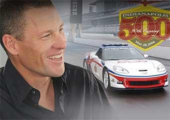 Лэнс Армстронг примет участие в гонке IndyCar