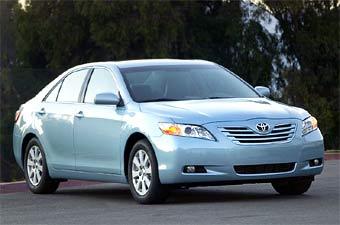 Toyota представила новое поколение модели Camry