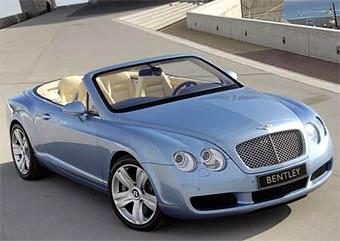 Bentley официально представила новый кабриолет