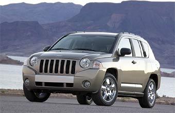 Новейший внедорожник Jeep Compass будет продаваться в Европе