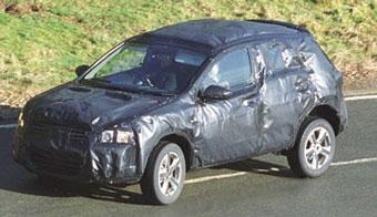 Nissan испытывает новый компактный вседорожник