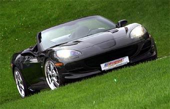 Ателье Geiger Cars построило компрессорный Chevrolet Corvette