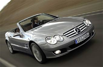 Mercedes-Benz анонсировал обновленный родстер SL