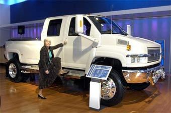 "Chevrolet представил ""монстроподобный"" грузовик"