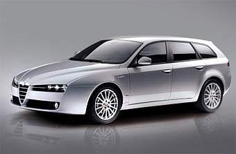 Alfa Romeo представляет универсал на базе Alfa Romeo 159