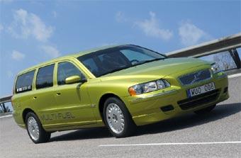 Автомобили Volvo смогут ездить на пяти видах топлива
