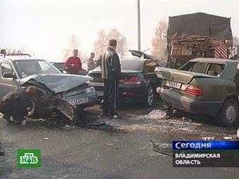 За шесть месяцев 2006 года на дорогах России погибло более 11,5 тысяч человек