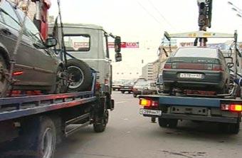 Эвакуаторы расчистят Путину дорогу к ипподрому