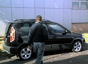 """Skoda готовит """"внедорожную"""" версию модели Roomster"""