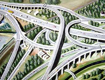 Платную автомагистраль Москва-Питер начнут строить в 2007 году