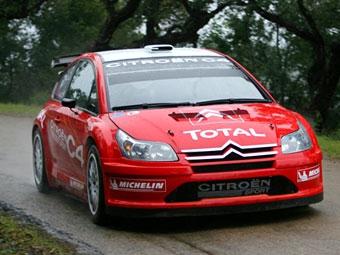 Citroen представит новый болид WRC