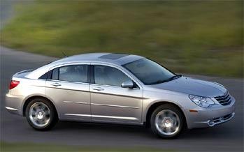 Chrysler покажет новый Sebring в Лондоне