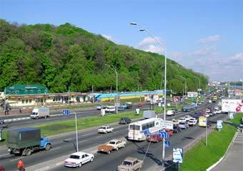 Грузовикам запретили ездить по центру Киева