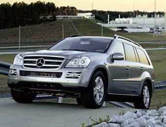 Американские журналисты выбрали Mercedes GL внедорожником года