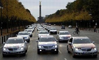 Mercedes-Benz продала 25 миллионов автомобилей за 60 лет