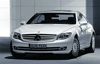 Мировая премьера Mercedes CL состоится в Москве