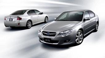 Subaru Legacy немного обновили