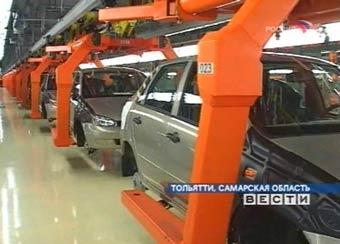 В России стали делать больше автомобилей