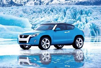 Volkswagen показал концептуальный кроссовер