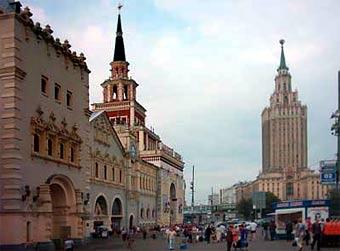 На Комсомольской площади Москвы изменят схему движения