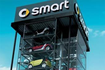 Автомобили Smart появятся Америке в 2007 году