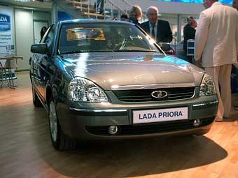 Первую партию Lada Priora выпустят в мае