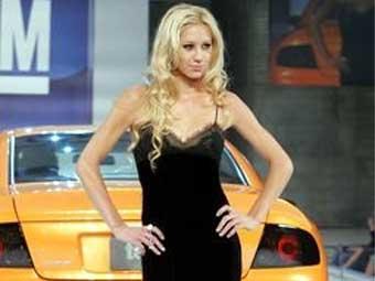 Анна Курникова представит модели KIA на стамбульском автошоу