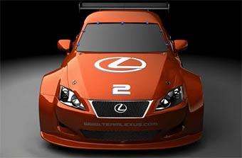 Lexus готовит автомобиль для выступления в гонках ALMS