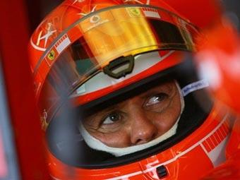Уход Шумахера из гонок не помешал ему сохранить спонсоров