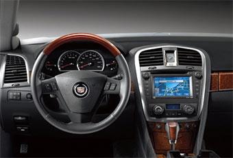 Cadillac SRX получает новый интерьер