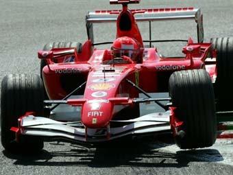 Михаэль Шумахер выиграл Гран-при Италии