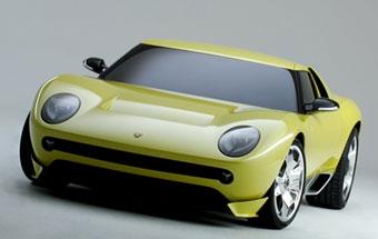 Lamborghini Miura станет ответом Ferrari Enzo