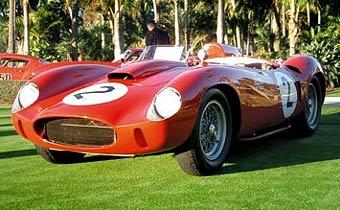 Легендарный Ferrari 412S продадут за восемь миллионов долларов