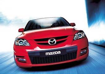 Появились первые фотографии Mazda3 MPS