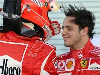 Пилоты Ferrari выиграли квалификацию Гран-при Японии