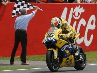 Валентино Росси выиграл Гран-при Италии