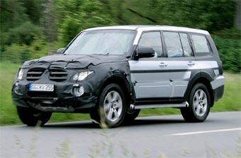 Mitsubishi Pajero подвергнут рестайлингу