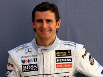Де ла Роса сохранил место в McLaren до конца сезона