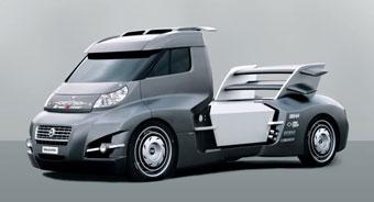 Fiat сделал из коммерческого грузовика гоночный болид